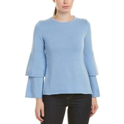 セイルトゥーサブル ニット&セーター アウター レディース Sail to Sable Wool & Cashmere-Blend Sweater sky