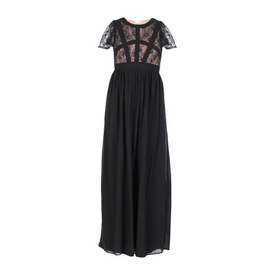 LA KORE ロングワンピース&ドレス ブラック 0 ポリエステル 100% / ナイロン ロングワンピース&ドレス