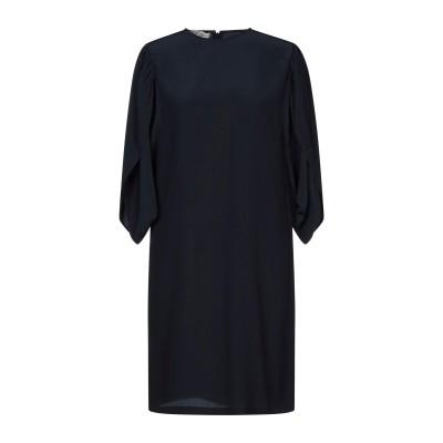 ステラ マッカートニー STELLA McCARTNEY ミニワンピース&ドレス ダークブルー 44 シルク 100% ミニワンピース&ドレス