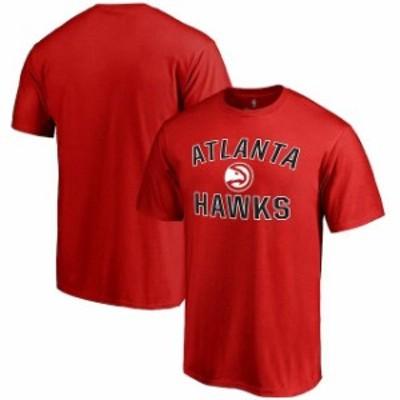 Fanatics Branded ファナティクス ブランド スポーツ用品  Atlanta Hawks Red Big & Tall Victory Arch T-Shirt