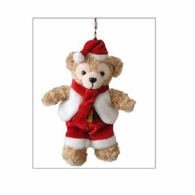 2010ダッフィー(Duffy) ダッフィーのクリスマス限定 ぬいぐるみストラップ