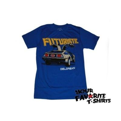 Tシャツ バックトゥーザフューチャー Delorean Motor Co. Futuristic Adult Lightweight Shirt