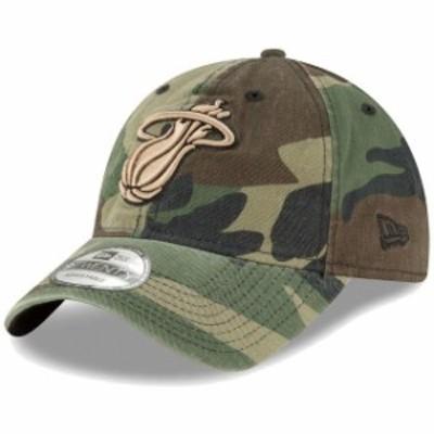 New Era ニュー エラ スポーツ用品  New Era Miami Heat Camo Core Classic 9TWENTY Adjustable Hat