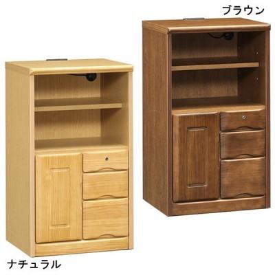 電話台 TEL台 FAX台 完成品 幅50cm 日本製 木製