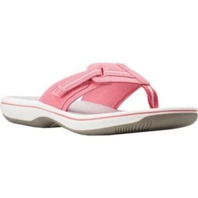 クラークス Clarks レディース シューズ・靴 Brinkley Jazz Bright Pink Synthetic