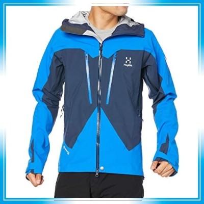 [ホグロフス] ゴアテックス、マウンテンパーカ スピッツジャケット Spitz Jacket Men メンズ Tarn blue/storm blue UK S (日
