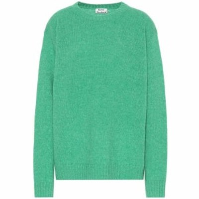 アクネ ストゥディオズ Acne Studios レディース ニット・セーター トップス Oversized wool sweater Bright Green