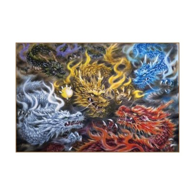 Expert 3000 small piece of an extreme puzzle 5 colors Dragon 21-105【並行輸入品】