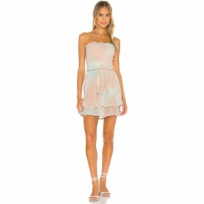 ジェンズパイレーツブーティ Jens Pirate Booty レディース ワンピース ミニ丈 ワンピース・ドレス Aguarela Mini Dress Mint/Hot Peach/