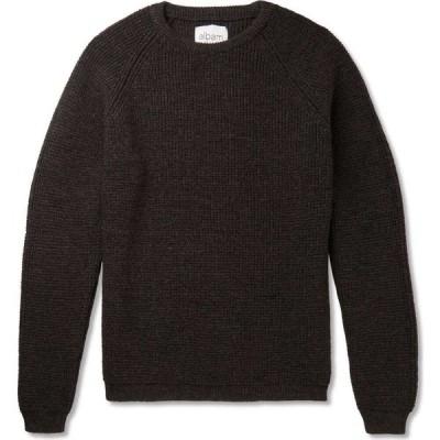 アルバム ALBAM メンズ ニット・セーター トップス sweater Steel grey
