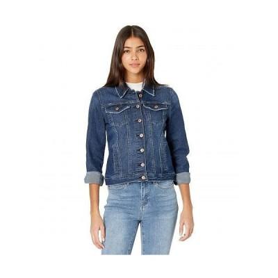Nicole Miller New York 二コールミラー レディース 女性用 ファッション アウター ジャケット コート ジージャン Basic Denim Jacket - West Side