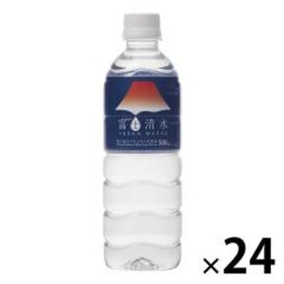 〔送料無料/北海道・沖縄県を除く〕 ミツウロコ 富士清水 JAPAN WATER 500ml ペットボトル 24本入