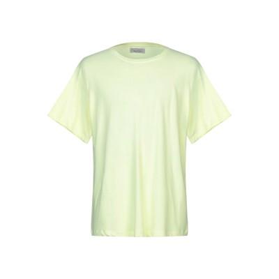 ラネウス LANEUS T シャツ イエロー XS コットン 96% / ナイロン 4% T シャツ