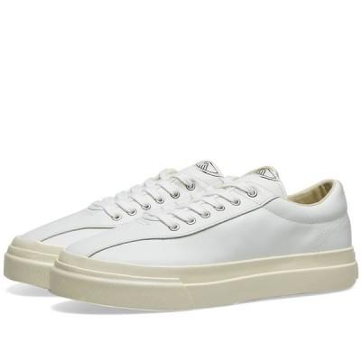 エス ダブリュー シー Stepney Workers Club レディース スニーカー シューズ・靴 Dellow Leather Sneaker W White
