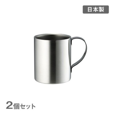DA230 溶接2重マグ 共柄 8oz 2個セット(802166-2pc) マグ キッチン、台所用品