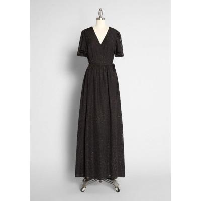 モドクロス ModCloth レディース パーティードレス マキシ丈 ワンピース・ドレス stay a little longer maxi dress black