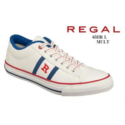 (リーガル)REGAL 65HR L カジュアルキャンパススニーカー 誕生40周年を迎える記念モデルの『R』マークスニーカー メンズ(NAVY×25.0cm)