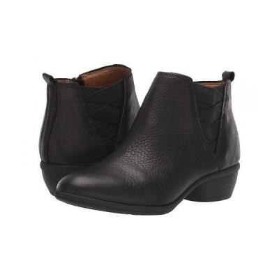 Comfortiva コンフォーティヴァ レディース 女性用 シューズ 靴 ブーツ アンクル ショートブーツ Questa - Black Cascade Soft