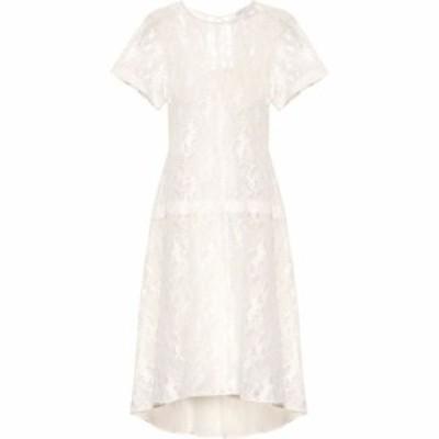 クロエ Chloe レディース ワンピース ワンピース・ドレス Cotton-blend lace dress Iconic Milk
