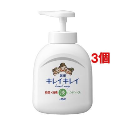 キレイキレイ 薬用液体ハンドソープ ポンプ ( 250ml*3個セット )/ キレイキレイ