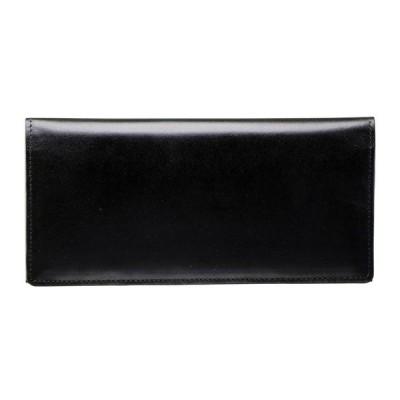 手塗りオイルレザー ササマチ長財布 ブラック TA36-01 財布・小物