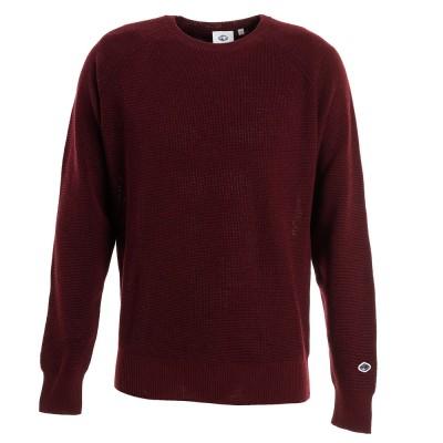 フィドラセーターゴルフ セーター メンズ メリノクルーネックセーター FD5GTJ03 REDエンジ