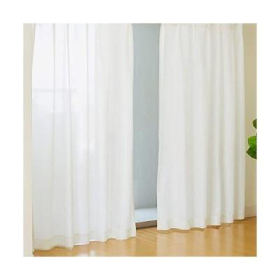 帝人ecolier-遮熱・遮像・UVカットカーテン-レースカーテン、UVカットカーテン-幅100×丈198-100230204003-01-01
