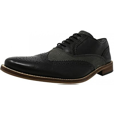 スティーブマッデン メンズ・シューズ 紐靴Steve Madden Men's Finn Ankle-High Leather Oxford Shoe