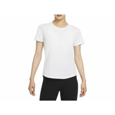 ナイキ NIKE ワン LUXE DF STD S/S トップ レディース 春 夏 ホワイト 白 スポーツ フィットネス 半袖 Tシャツ DD0619-100