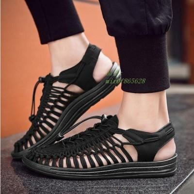 サンダル カジュアルシューズ メンズ 夏サンダル 2020夏新作 大きいサイズ かっこいい歩きやすい メンズ 痛くない ビーチサンダル 靴