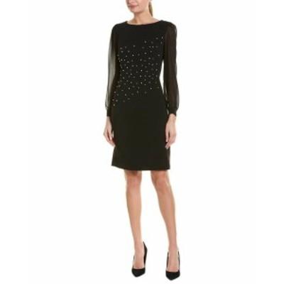 KARL LAGERFELD カールラガーフェルド ファッション ドレス Karl Lagerfeld Shift Dress 4