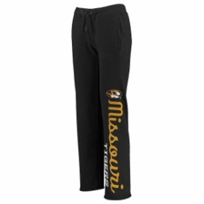 Fanatics Branded ファナティクス ブランド スポーツ用品  Missouri Tigers Womens Black Cozy Fleece Sweatpants
