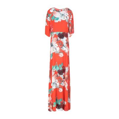 アニヤバイ ANIYE BY ロングワンピース&ドレス コーラル M 100% レーヨン ロングワンピース&ドレス