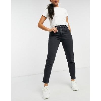 カルバンクライン Calvin Klein Jeans レディース ジーンズ・デニム ボトムス・パンツ Mom Jean In Washed Black デニムブラック