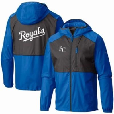 Columbia コロンビア スポーツ用品  Columbia Kansas City Royals Royal Flash Forward Team Full-Zip Windbreaker Jacket