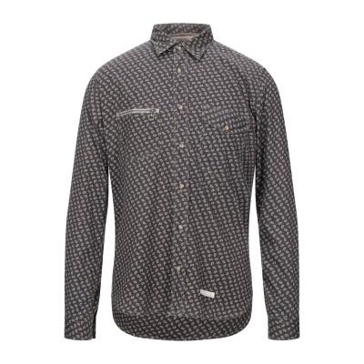 TINTORIA MATTEI 954 シャツ スチールグレー 39 コットン 100% シャツ
