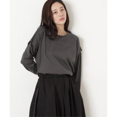 tシャツ Tシャツ レイヤード天竺トップス
