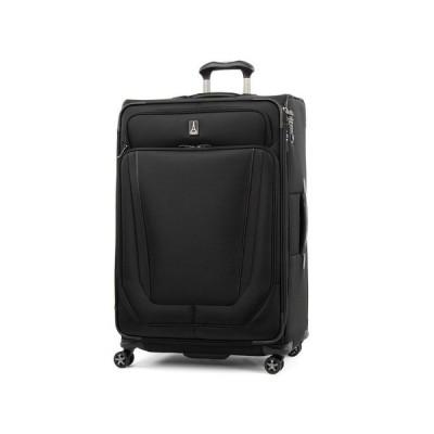 """トラベルプロ Travelpro メンズ スーツケース・キャリーバッグ バッグ Crew Versapack 29"""" Expandable Spinner Suitcase Jet Black"""