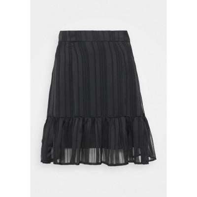 ゲス スカート レディース ボトムス CHIKA SKIRT - Mini skirt - jet black