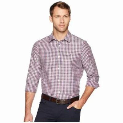 カルバンクライン シャツ The Cotton-Cashmere Shirt Merlot