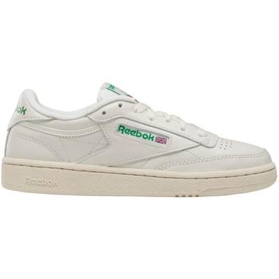 リーボック Reebok レディース シューズ・靴 Club C 85 Shoes White/Green
