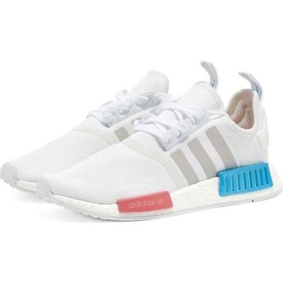 アディダス Adidas レディース スニーカー シューズ・靴 nmd_r1 w White/Grey/Hazy Rose