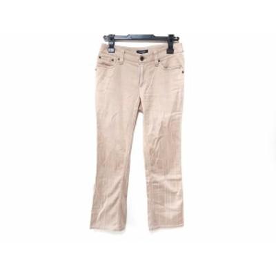 バーバリーロンドン Burberry LONDON パンツ サイズ36 M レディース - ベージュ フルレングス【中古】20200710