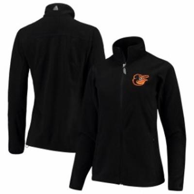 Antigua アンティグア スポーツ用品  Antigua Baltimore Orioles Black Womens Ice Full Zip Jacket