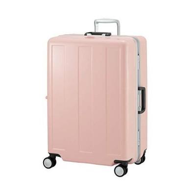 プラスワン スーツケース Advance Booon LLサイズ 96L 66.5cm 5.0kg 1101-67 (ミルキーブロッサム)