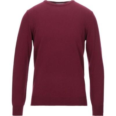 カングラ カシミア KANGRA CASHMERE メンズ ニット・セーター トップス sweater Garnet