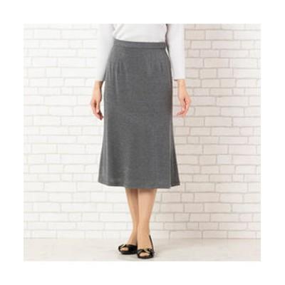 [セットアップ対応] アシンメトリー切替のセミフレアースカート