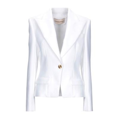 アレクサンドル・ボーティエ ALEXANDRE VAUTHIER テーラードジャケット ホワイト 38 コットン 56% / レーヨン 44% テー