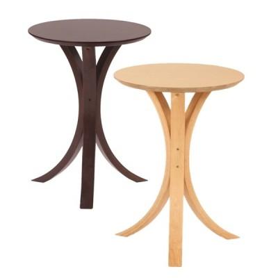 テーブル サイドテーブル サイドテーブル 丸形 NET-410 NET-410 サイドテーブル ブラウン ナチュラル