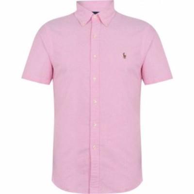 ラルフ ローレン Polo Ralph Lauren メンズ 半袖シャツ トップス Short Sleeve Oxford Shirt New Rose